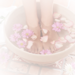 relaxing pedicure at glamour spot beauty salon Marsden Park - Valentines Day special - image