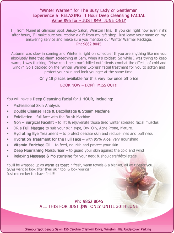 glamour-spot-beauty-salon-membership-voucher-june-special